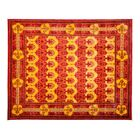 One-of-a-Kind Domestico Hand-Knotted Red Area Rug Rug Size: Rectangle 8'1