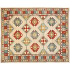 One-of-a-Kind Ersari Hand-Knotted Multicolor Area Rug