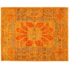 One-of-a-Kind Shalimar Hand-Knotted Orange Area Rug