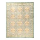One-of-a-Kind Suzani Hand-Knotted Yellow Area Rug Rug Size: Rectangle 8' x 10'2