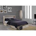 Cossette Queen Storage Murphy Bed with Mattress
