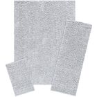 Aviles 3 Piece Soft Silver Area Rug Set