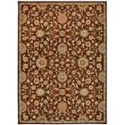 Babylon Ancient Times Ancient Treasures Brown Area Rug Rug Size: Rectangle 5'3