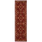 Babylon Ancient Times Ancient Treasures Red Area Rug Rug Size: Runner 2'2