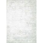 Desert Skies Hand-Loomed Silver Area Rug Rug Size: Rectangle 9' x 12'
