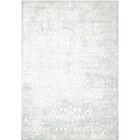 Desert Skies Hand-Loomed Silver Area Rug Rug Size: Rectangle 3'9