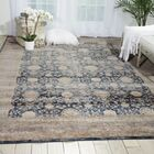 Malta Navy Area Rug Rug Size: Rectangle 3'11