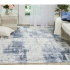 Mcgill Modern Abstract Hand-Woven Blue Area Rug Rug Size: Rectangle 9' x 12'