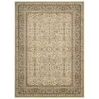 Antiquities American Jewel Ivory Area Rug Rug Size: Rectangle 9'10