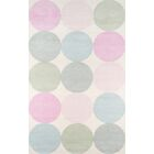 Agatha - Dots Hand-Tufted Wool Area Rug Rug Size: Rectangle 5' x 8'