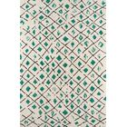 Bungalow Green/Black Area Rug Rug Size: Rectangle 3'6