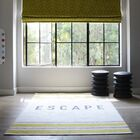 Escape Yellow Area Rug Rug Size: Rectangle 7'6