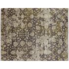 One-of-a-Kind Lona Floral Hand-Knotted Rectangle Brown Area Rug