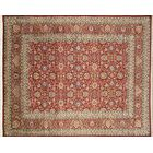 Pak-Persian Simin Hand Knotted Wool Red Area Rug Rug Size: Rectangle 9' x 12'1
