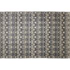 One-of-a-Kind Lona Hand-Knotted Gray/Black Area Rug