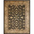 One-of-a-Kind MontagueHand-Knotted Black Area Rug