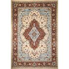 One-of-a-Kind Abbotsford Fine Hand-Knotted Ivory Area Rug