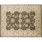One-of-a-Kind Lona Oriental Hand-Knotted Brown Area Rug