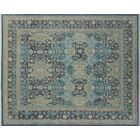 One-of-a-Kind Romona Hand-Knotted Charcoal Indoor Area Rug