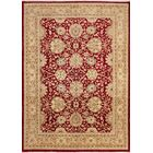 One-of-a-Kind Romona Hand-Knotted Red Wool Area Rug