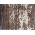 One-of-a-Kind Sandi Hand-Knotted Brown Area Rug