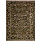One-of-a-Kind Sheryl Hand Knotted Wool Green/Brown Area Rug
