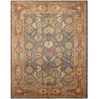 One-of-a-Kind Romona Hand Knotted Oriental Wool Blue Area Rug