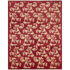 One-of-a-Kind Romona Hand-Knotted Wool Red Area Rug