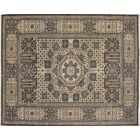 One-of-a-Kind Romona Hand Knotted Oriental Wool Chocolate Area Rug