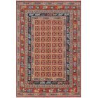 One-of-a-Kind Woodmoor Mardanzai Hand-Knotted Wool Rust Area Rug