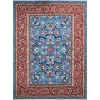 One-of-a-Kind Woodmoor Beltoon Hand-Knotted Wool Blue Area Rug