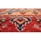 One-of-a-Kind Woodmoor Qurban Hand-Knotted Wool Rust/Red Area Rug