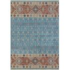 One-of-a-Kind Trevor Assad Hand-Knotted Wool Blue Area Rug