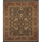 One-of-a-Kind Mickey Hand Knotted Wool Navy/Beige Area Rug
