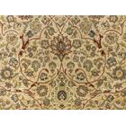Clerkin Hand Knotted Rectangle Wool Beige Area Rug Size: 8'1