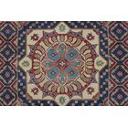 Bryonhall Kazak Hand Knotted Wool Red Area Rug