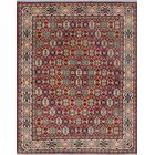Bullace Kazak Hand Knotted Wool Red Area Rug
