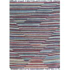 Troy Traditional Kilim Hand Woven Wool Red Area Rug Rug Size: Rectangle 2'9