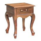 Wallsend Fine Handcrafted Solid Mahogany Wood Nightstand Color: Walnut