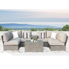 Winsford 19 Piece Sofa Set with Cushions