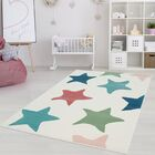 Shamar Star Blue/Green Area Rug Rug Size: Rectangle 3'11