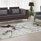 Anise Caramel/Beige Area Rug Rug Size: 6'5