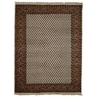 Marathon Hand-Woven Wool Brown Area Rug Rug Size: Rectangle3' x 5'