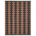 Zayas Hand-Woven Brown/Charcoal Area Rug Rug Size: Rectangle5' x 8'