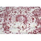 Pearlman Hand-Tufted Red/Gray Area Rug Rug Size: Runner 3' x 8'