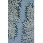 Bob Mackie Home Ice Blue Folia Area Rug Rug Size: Runner 2'6
