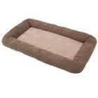 Natural Surroundings Low Bumper Crate Dog Mat Size: X-Large (41
