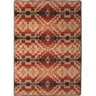 Johnny D Life Path Fire Area Rug Rug Size: Rectangle 8' x 11'
