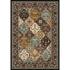 Specialty Badillo Brown Area Rug Rug Size: Rectangle 4' x 5'
