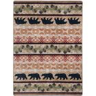 Cabana Bears Natural Area Rug Rug Size: Rectangle 4' x 5'
